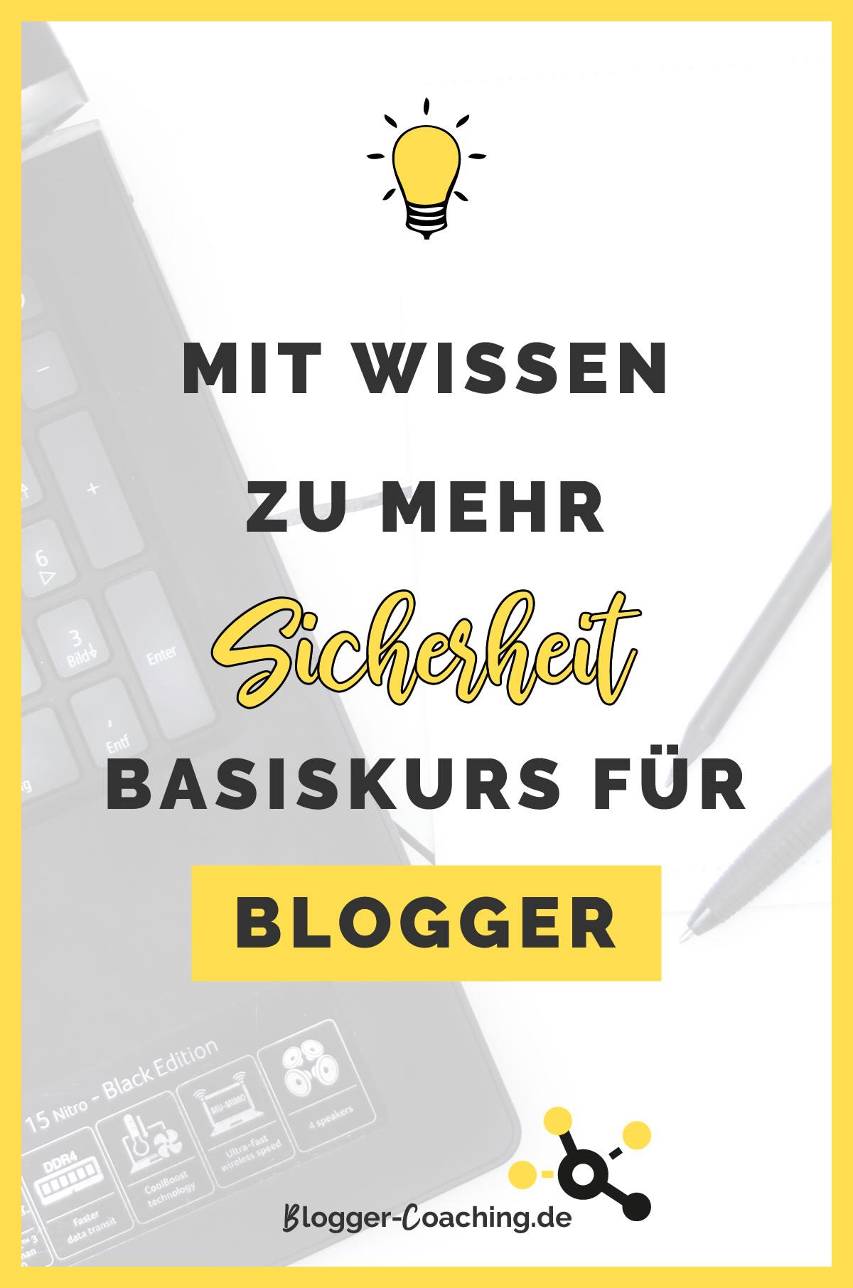 Blogger Basiskurs – Lerne dein System kennen | Blogger-Coaching.de - Dein Weg zum Blog-Erfolg #blogger #erfolg