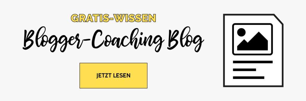 Der Blogger-Coaching-Blog - Gratis Wissen für deinen Blog-Erfolg