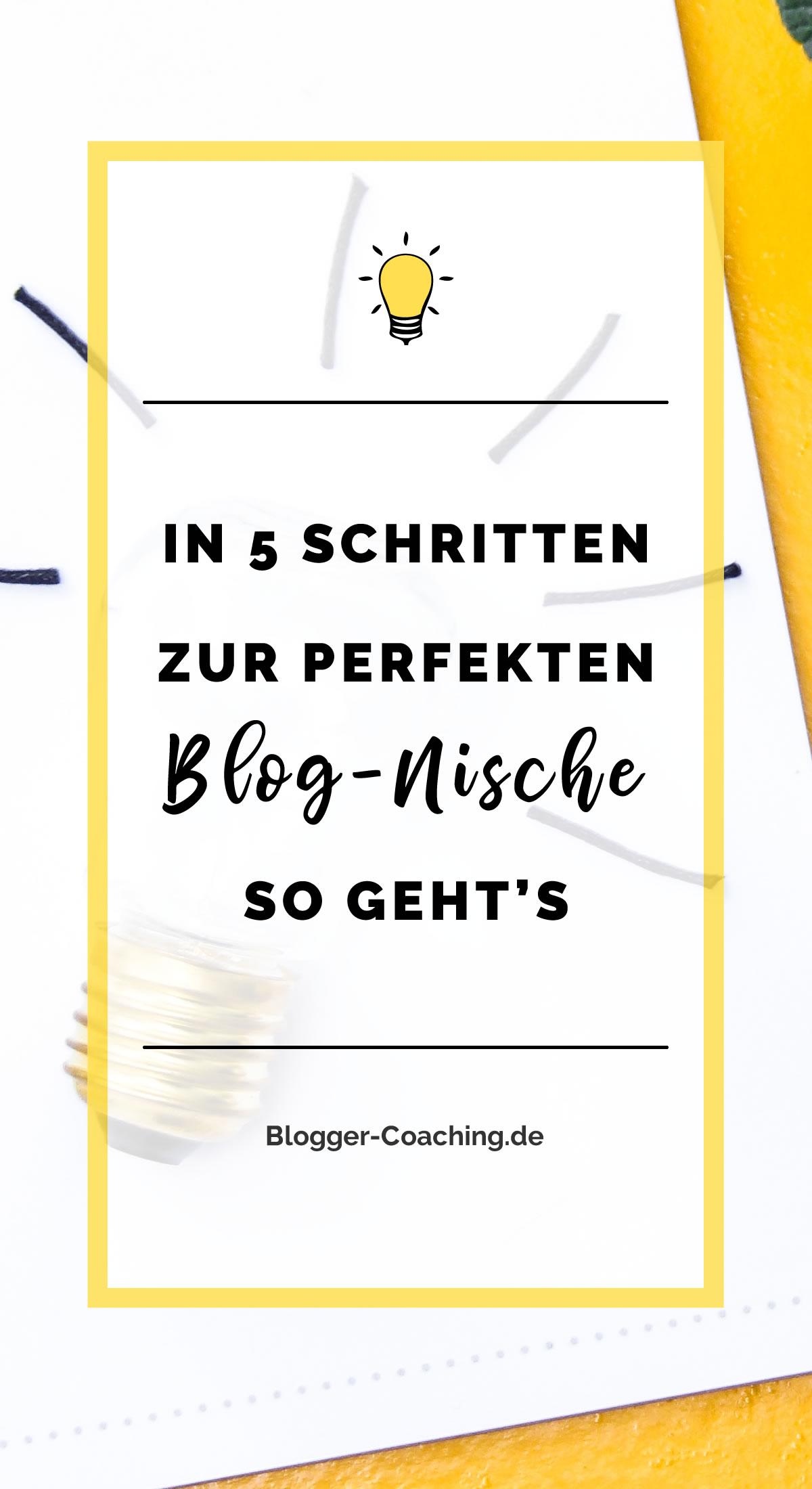 Fluch oder Segen: Die Blog-Nische - Wofür ist sie wirklich gut? | Blogger-Coaching.de - Dein Weg zum Blog-Erfolg #blogger #erfolg