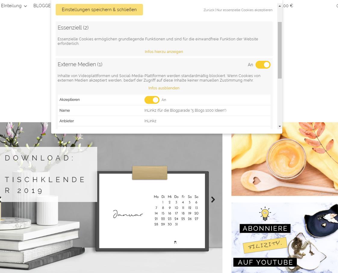 Anleitung: Cookie Opt-In DSGVO-konform einrichten und prüfen mit dem WordPress Plugin Borlabs Cookie | Blogger-Coaching.de - Erfolgreich bloggen & Geld verdienen