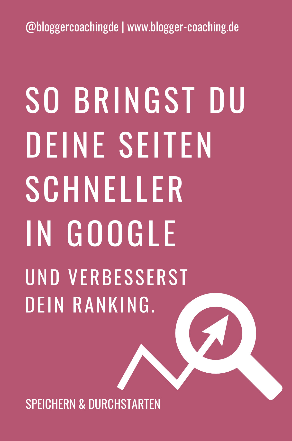 Google Search Console: So verbessert sie deine Suchmaschinenoptimierung | Blogger-Coaching.de - Tipps & Kurse für Blogger