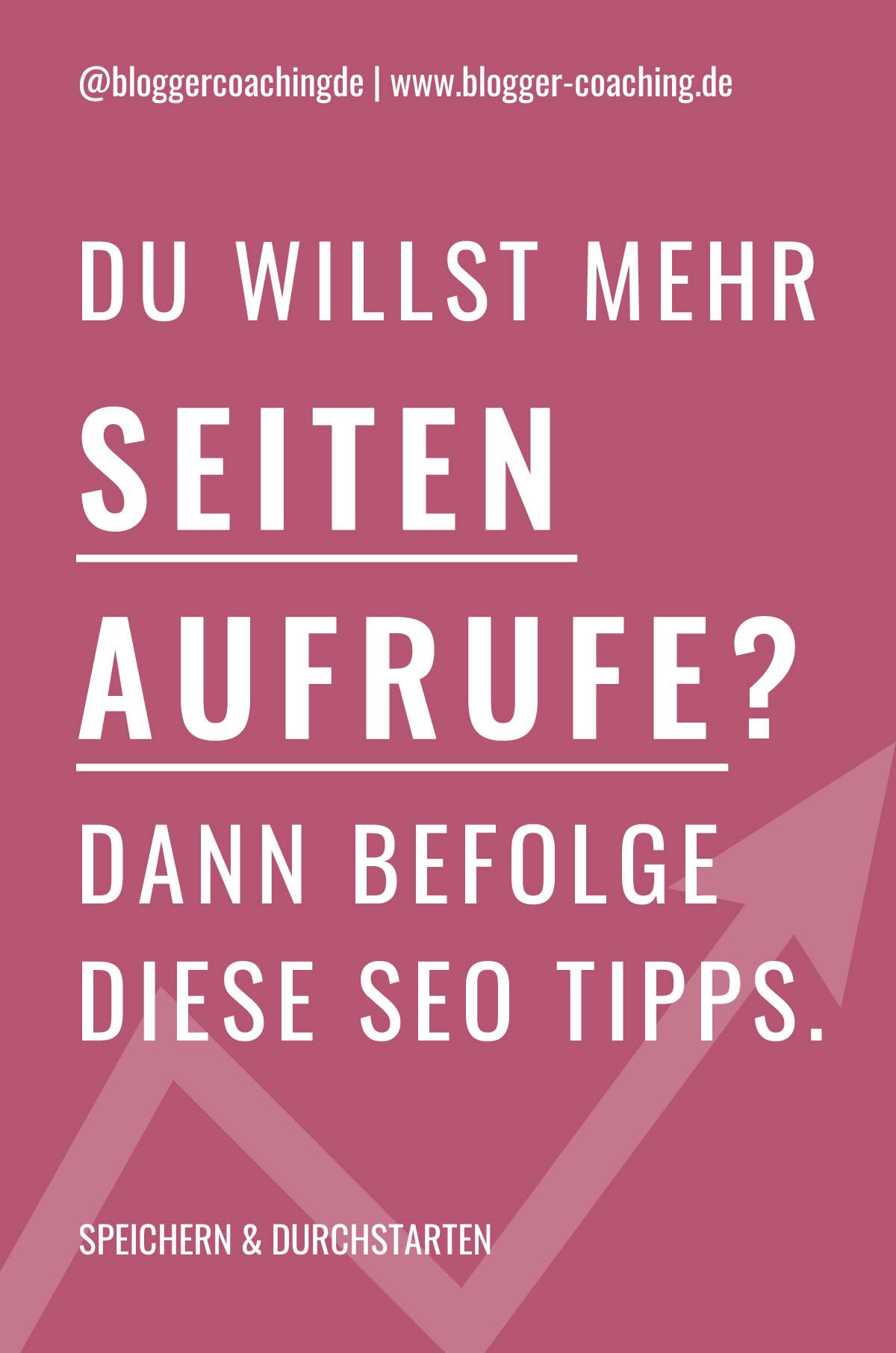 5 effektive SEO Tipps für mehr Blogleser (2020) | Blogger-Coaching.de - Tipps & Kurse für Blogger