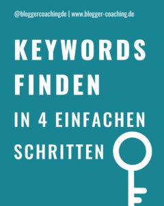 Keyword-Recherche: Die besten Keywords finden in 4 Schritten   Blogger-Coaching.de - Tipps & Kurse für Blogger