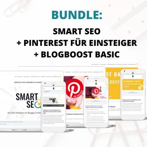 BUNDLE: Smart SEO + Pinterest für Einsteiger + BlogBoost Basic   Blogger-Coaching.de - Tipps & Kurse für Blogger