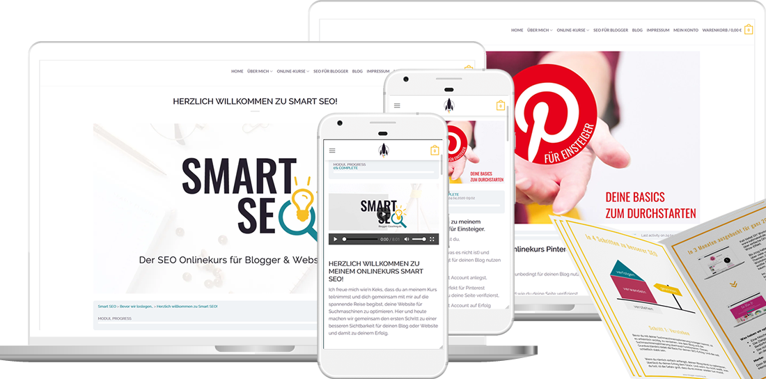Smart SEO - Der SEO Onlinekurs für Blogger & Websitebetreiber   Blogger-Coaching.de - Tipps & Kurse für Blogger