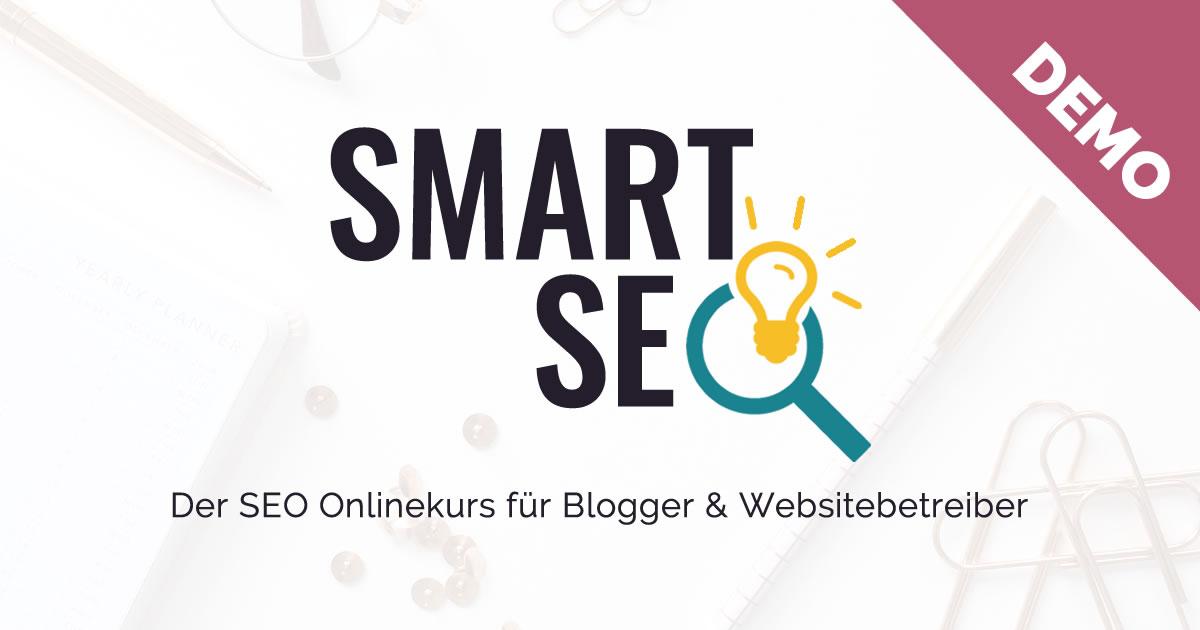 Smart SEO Demo | Blogger-Coaching.de - Tipps & Kurse für Blogger