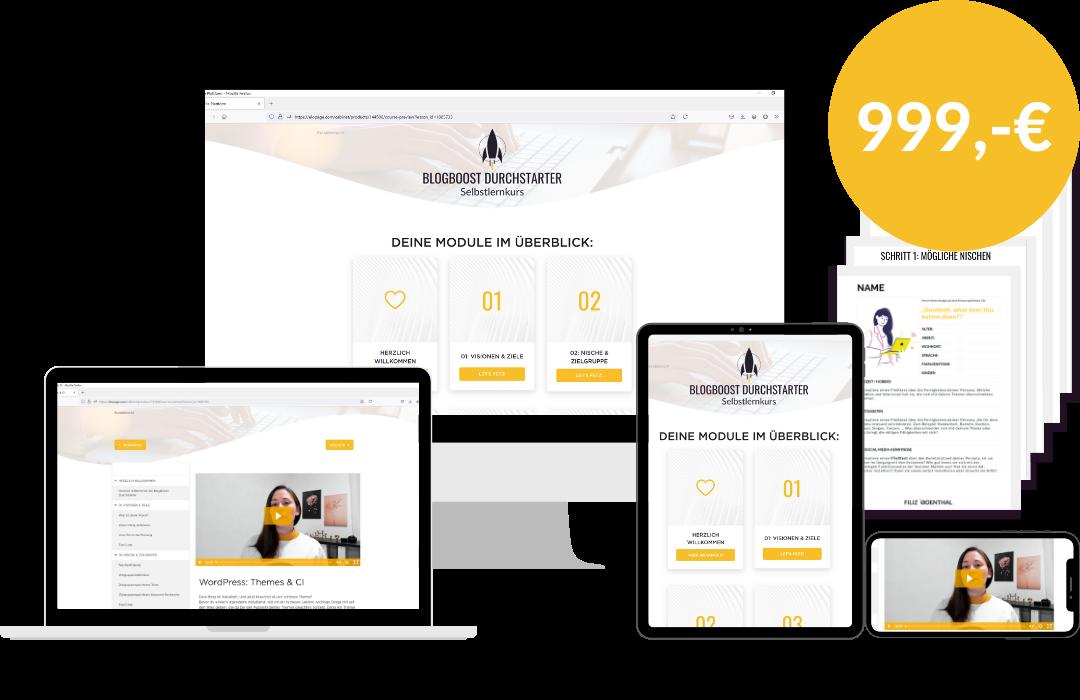 BlogBoost Durchstarter - Erfolgreich Bloggen leicht gemacht   Blogger-Coaching.de - Tipps & Kurse für Blogger