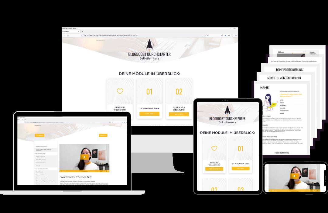 BlogBoost Durchstarter - Erfolgreich Bloggen leicht gemacht | Blogger-Coaching.de - Tipps & Kurse für Blogger